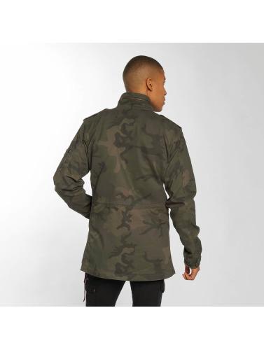 Alpha Industries Herren Übergangsjacke Huntington in camouflage