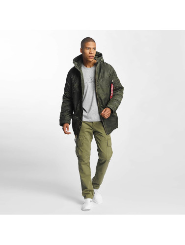 Alpha Industries Herren Winterjacke N3-B PM in camouflage