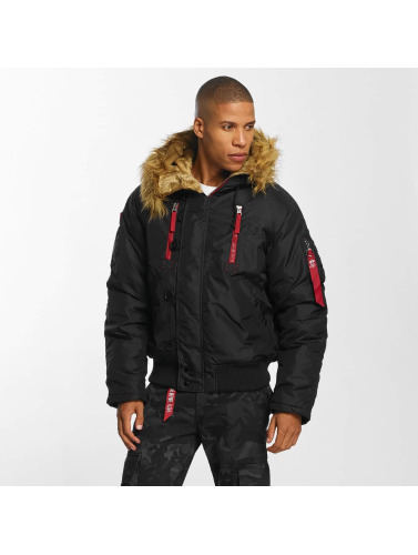 Alpha Industries Herren Winterjacke PPS N2B in schwarz