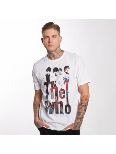 Amplified Hombres Camiseta The Who in blanco