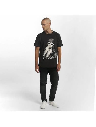 Amplified Hombres Camiseta Kurt Cobain Photograph in gris