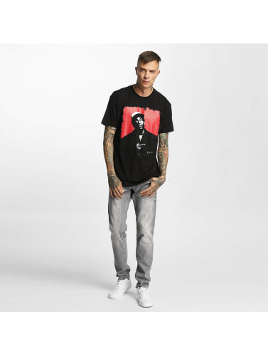 Amplified Hombres Camiseta Snoop Dogg - Red Square in negro