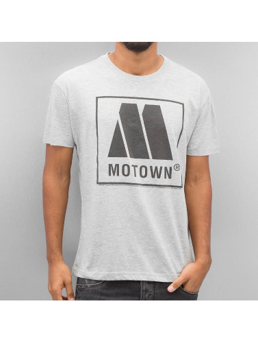 Amplified Herren T-Shirt Motown Logo in grau