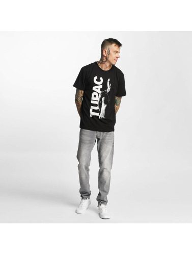 Amplified Herren T-Shirt Tupac - In The Shadows in schwarz