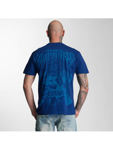 Amstaff Hombres Camiseta Zillus in azul