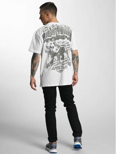 Amstaff Hombres Camiseta Tylos in blanco