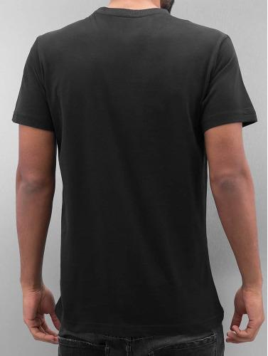 Amstaff Hombres Camiseta Isanto in negro