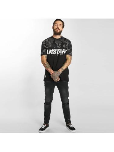 Amstaff Hombres Camiseta Fargos in negro