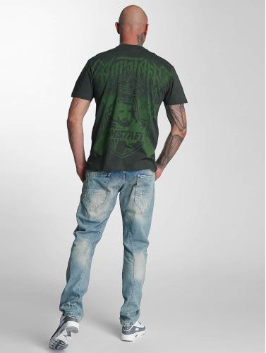 Amstaff Hombres Camiseta Zillus in verde