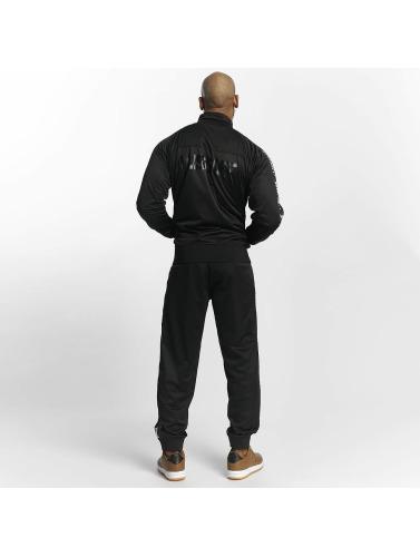 Amstaff Hombres Chaqueta de entretiempo Trilonos in negro