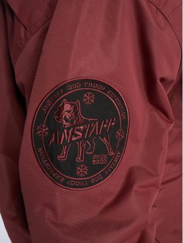 Amstaff Hombres Chaqueta de invierno Conex in rojo