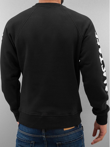 Amstaff Hombres Jersey Logo Sweatshirt in negro