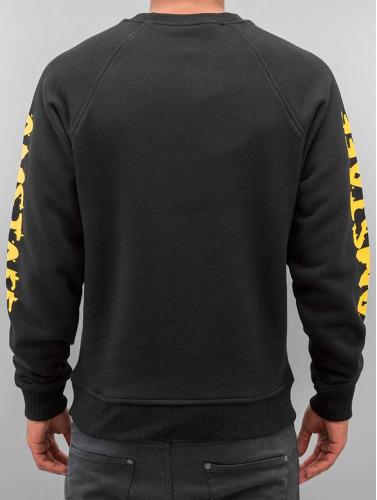 Amstaff Herren Pullover Logo in schwarz