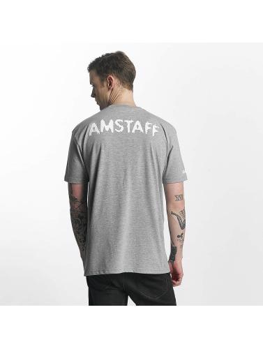 Amstaff Herren T-Shirt Logo in grau