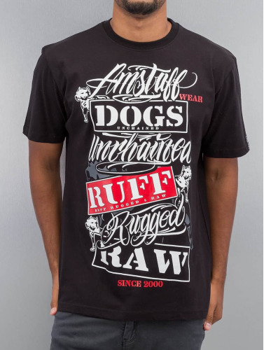 Amstaff Herren T-Shirt Mero in schwarz