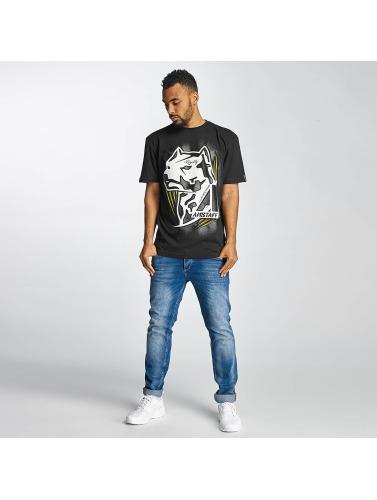 Amstaff Herren T-Shirt Gunnes in schwarz