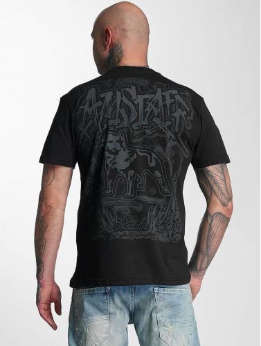 Amstaff Herren T-Shirt Bakur in schwarz