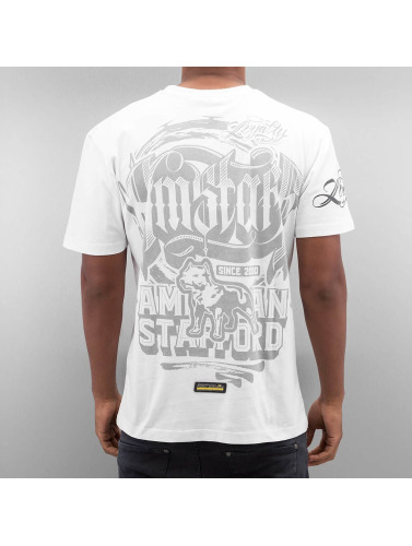Amstaff Herren T-Shirt Korsos in weiß