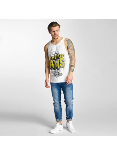 Amstaff Hombres Tank Tops Harson in blanco
