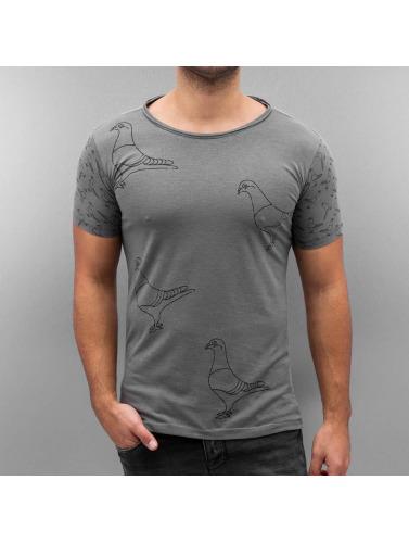 Amsterdenim Herren T-Shirt Henk in grau