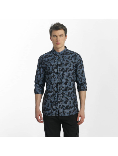 Anerkjendt Hombres Camisa Konrad in azul