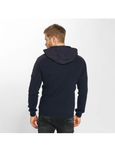 Anerkjendt Herren Strickjacke Luke in blau