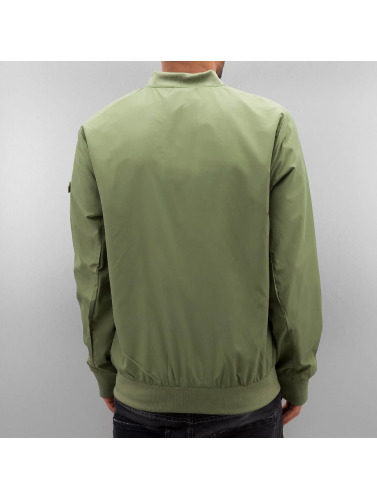 Authentic Style Herren Bomberjacke Thin in olive