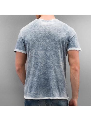 utløp utsikt Autentisk Stil Hombres Camiseta Undernivå Grunnleggende I Azul billig for salg sneakernews billig online manchester stor salg qEnFV