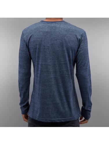 Authentic Style Hombres Camiseta de manga larga Tom in azul