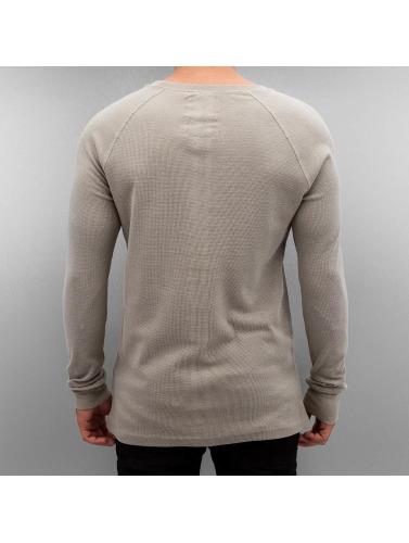 Authentic Style Hombres Camiseta de manga larga Raglan in gris