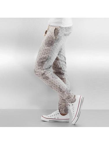 Authentic Style Damen Jogginghose Pattern in beige