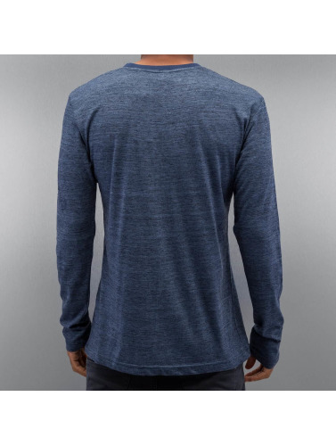 Authentic Style Herren Longsleeve Tom in blau