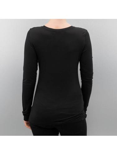Authentic Style Damen Longsleeve Style in schwarz