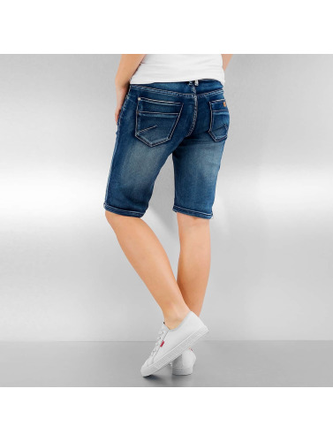 Authentic Style Damen Shorts Panna in blau