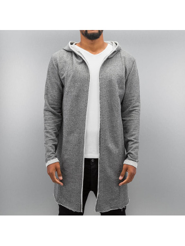 Authentic Style Herren Strickjacke Sweat in grau