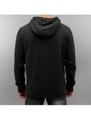 Authentic Style Hombres Sudadera Aiden in negro