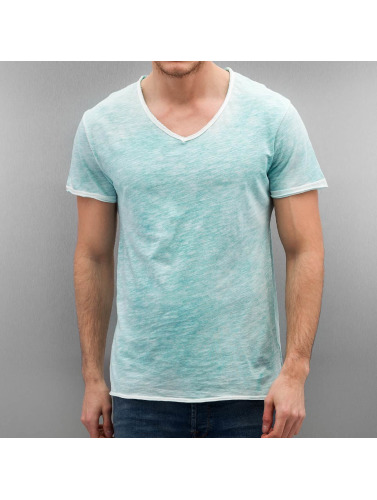 Authentic Style Herren T-Shirt Sublevel Basic in blau