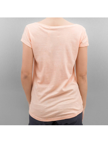 Authentic Style Damen T-Shirt Feather in orange