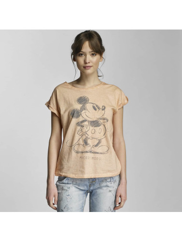 Authentic Style Damen T-Shirt Mickey in orange