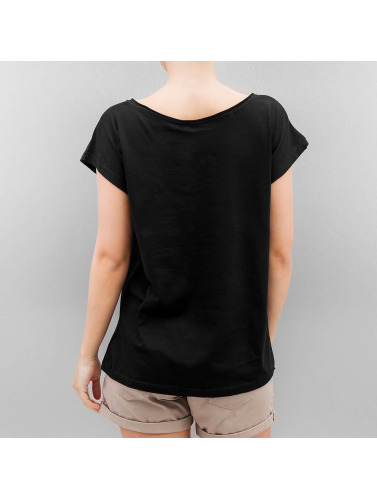 Authentic Style Damen T-Shirt Sublevel Peanuts in schwarz