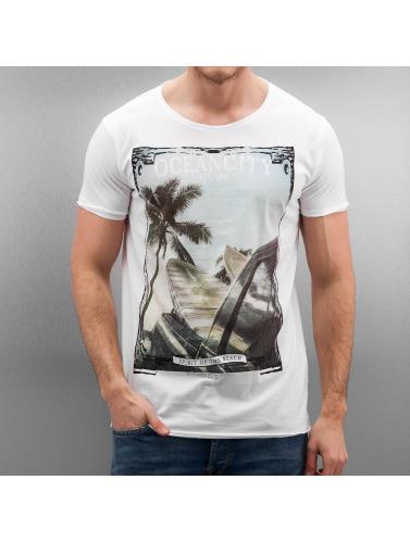 Authentic Style Herren T-Shirt Oceancity in weiß
