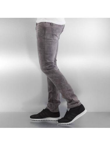 Authentic Style Hombres Vaqueros rectos Jogg in gris