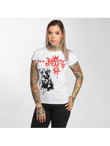Babystaff Mujeres Camiseta Eval in blanco