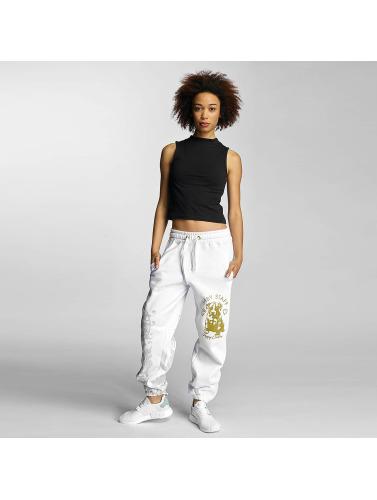Babystaff Mujeres Pantalón deportivo Nidra in blanco