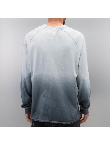 Bangastic Hombres Camiseta de manga larga AE189 Oversize in azul