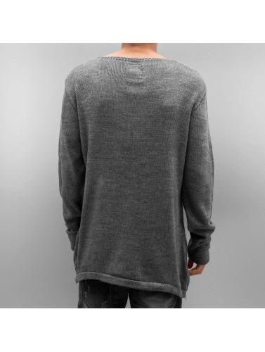 Bangastic Hombres Camiseta de manga larga Hoimar in gris