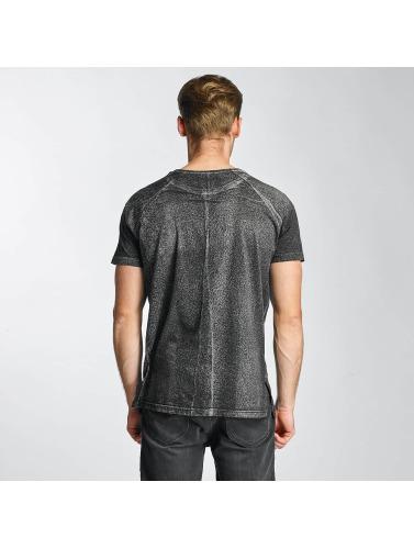 Bangastic Hombres Camiseta Turtle in gris
