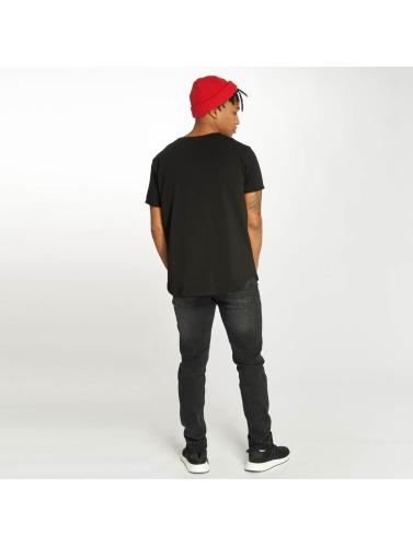 Bangastic Hombres Camiseta Norman in negro