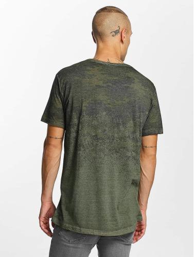 Bangastic Hombres Camiseta Fadin in oliva
