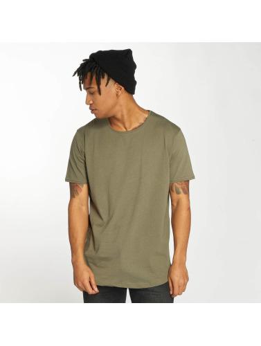 Bangastic Hombres Camiseta Basic in oliva
